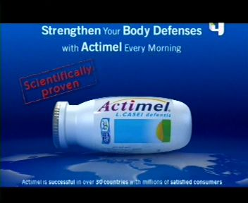 Actimel ad