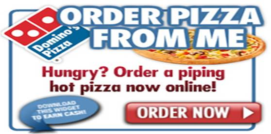Dominos widget
